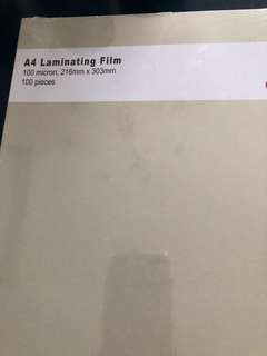 A4 laminating film pouch 100pc