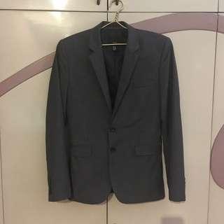 <H&M> Men's Gray Suit