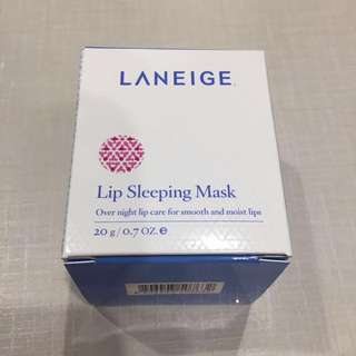 BNIB Laneige lip sleeping mask special care