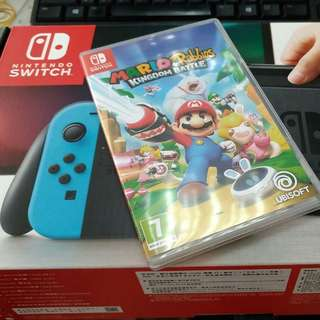 Switch with 1 game