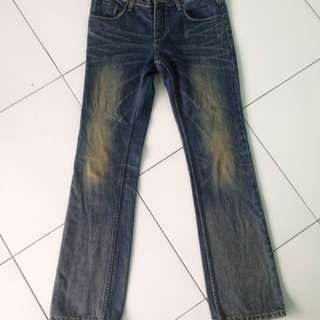 Handwosh jeans