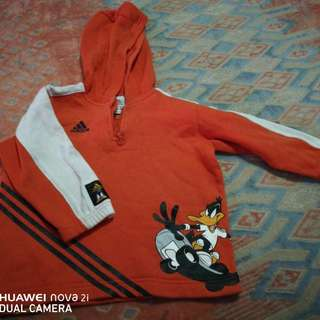 Adidas Original 3T Kids Sweater with HOODIE