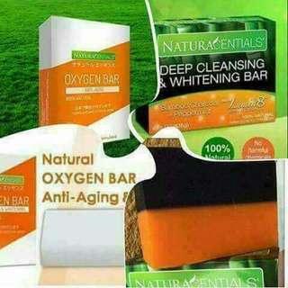 Oxygen bar soap