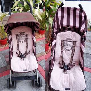 ‼️SALE‼️👑💎Authentic Maclaren x Juicy Couture Limited Edition Stroller💎👑