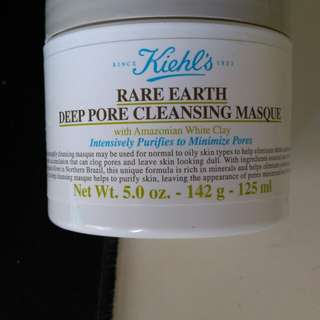 Kiehls,s rare earth deep pore cleansing masque