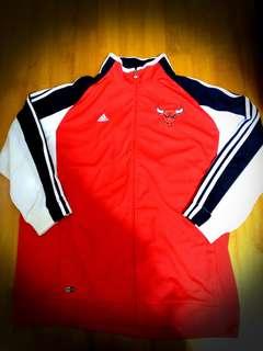Adi NBA公牛隊 warm up Jacket 100% Real