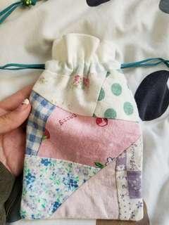 拼布索袋 清新可愛布料