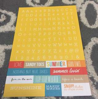 Simple Stories - summer