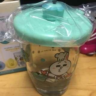 只限荔景交收 7-11 杯TIFFANY BLUE LE CREUSET LINE FRIENDS CONY花形鍋連蓋玻璃杯