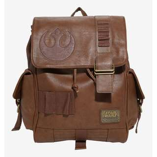 for PRE-ORDER! Loungefly x Star Wars Rey Rebel Cosplay Backpack