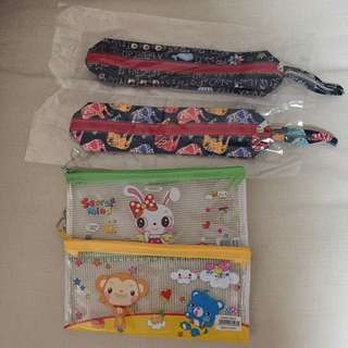(FREE) brandnew pencil cases. Giving altogether