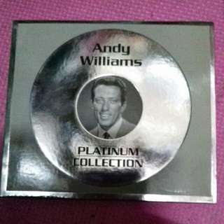 ANDY WILLIAMS CD song
