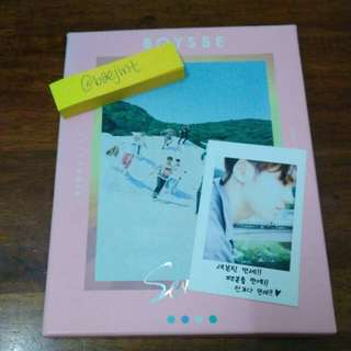 [WTS FAST] SEVENTEEN Boys Be Album with Mingyu Photocard