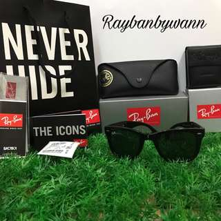 Original RayBan Wayfarerc Folding Black RB4105 601 50MM & 54MM