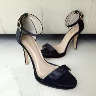 Christy Ng Velvet Heels