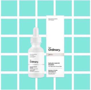 THE ORDINARY - Salicylic Acid 2% Solution (30ml)