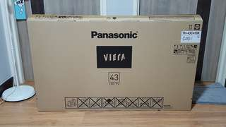 "Panasonic 43"" VIERA LED TV"