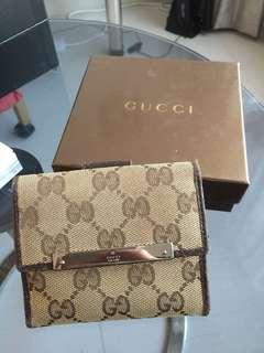 Gucci女裝多層銀包可裝散銀