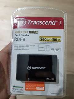 Transcend card reader usb3.1 / usb3.0