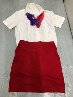 Virgin Atlantic Airlines Uniform - 維珍空姐制服(舊版)