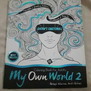 Buku Boy Chandra dan Coloring Book My own World
