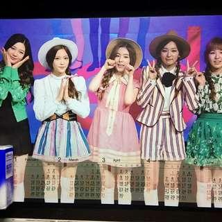 Red Velvet Wendy 韓國女團 硬膠年曆