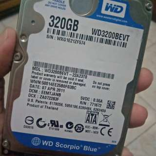 Hardisk Internal WD 320GB