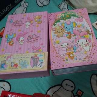 My Melody Lock Safe box有鎖保險鐵箱