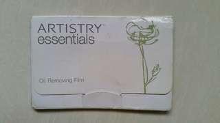 (5) Artistry Essentials Oil Removing Film #IDoTrades