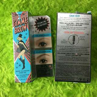 Benefit Gimme Brow Full Size