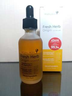 [PRELOVED] NATURAL PACIFIC FRESH HERB ORIGIN SERUM 50ML
