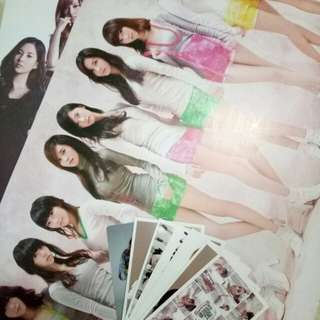 Preloved GIRLS GENERATION POSTER AND PC UNOFFICIAL