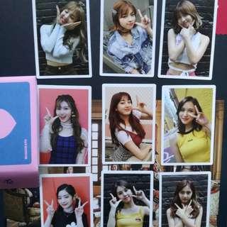 WTS Twicetagram Monograph Photocard Set