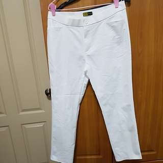 Perloved White Pants