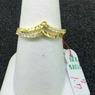 Sg18k ladies rings 1.7