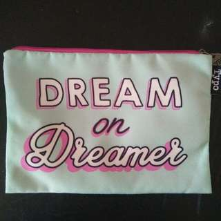 typo dream on dreamer pencil case