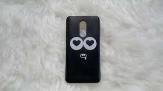 Softcase black love (Xiaomi Note 4)