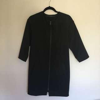 Won Hundred black coat