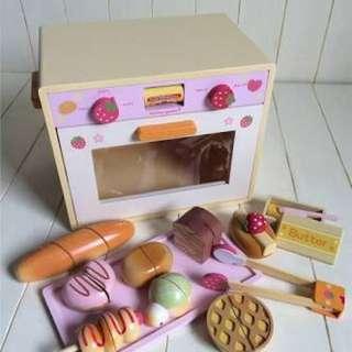 Mother Garden Wooden Oven Set
