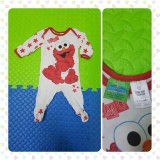 ELMO Baby Sleepsuit