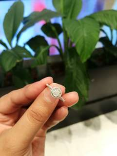 Illusion Diamond Ring (23k for cash, 25k open for lay-away too)