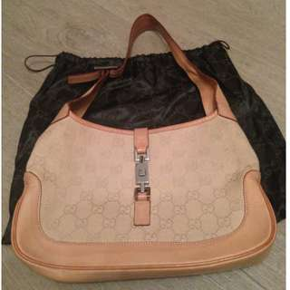 Gucci Beige Hobo Bag - Second Hand