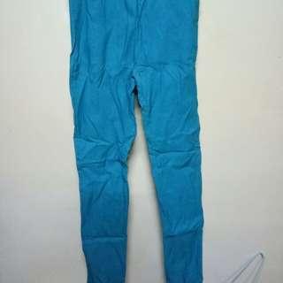 🚚 湖水綠彈性褲