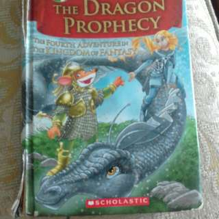 Geronimo stilton book dragon prophecy