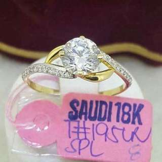 Sg18k ladies rings 1.95g