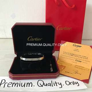 Customer's Order Cartier Bangle bracelet set