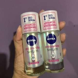 Nivea extra white serum deodorant