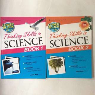 primary school science assessment books
