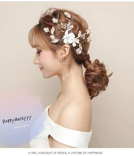 Bridal wedding headpiece