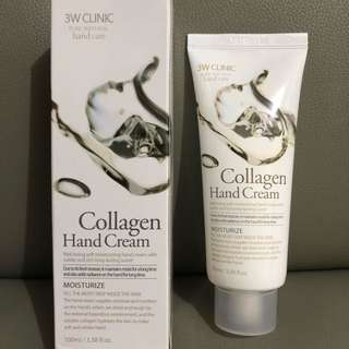 3W Clinic Collagen Hand Cream 100ml